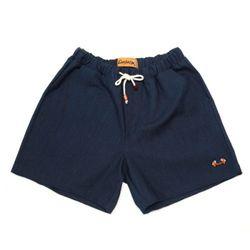 COTTON SPAN SHORT PANTS(INDIGO denim)