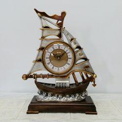 범선 탁상시계