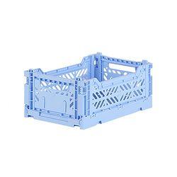 아이카사 폴딩박스 S baby blue