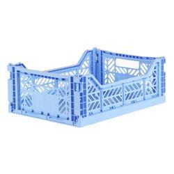 아이카사 폴딩박스 M baby blue