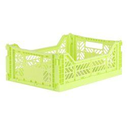 아이카사 폴딩박스 M lime
