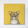 art-159 (40x40) 캔버스아트 강아지시리즈