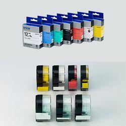 정품 엡손 라벨테이프 36mm (컬러선택)