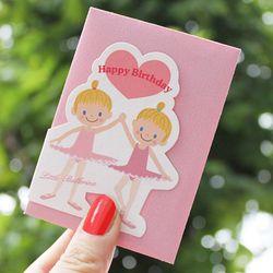 귀여운 감성 카드 4type