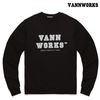 밴웍스 MAIN LOGO SWEATSHIRT BLACK(V15TS413)