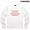 밴웍스 MAIN LOGO SWEATSHIRT WHITE(V15TS413)