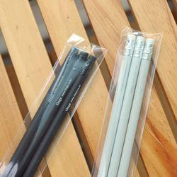 틴지 원형지우개연필 (3개1세트)
