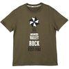 안산M밸리록페스티벌 MD - 티셔츠 카키
