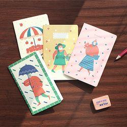 Breezy Day mini note