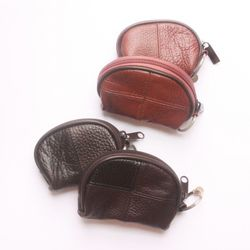 PiPing Wallet Pouch(leather) -medium