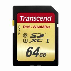 [트랜샌드] SDXC카드 64GB U3 ultra HD4K