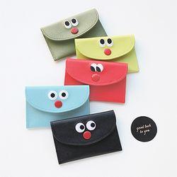 솜솜 스티치 카드 포켓 (5color)