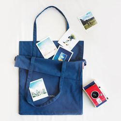 양면사용이 가능한 reversible mellow skyblue ecobag
