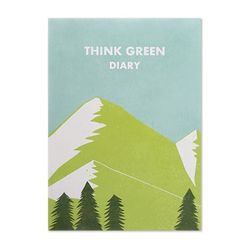 THINK GREEN DIARY ver.2 - blue