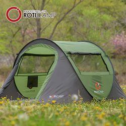 로티캠프 네이처 팝업 원터치 텐트 3-4인용