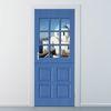 ncbr060-산토리니의 푸른 지붕-현관문시트지