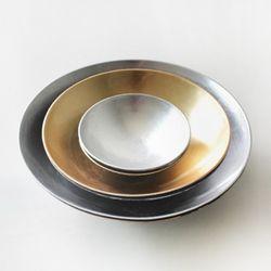 메탈 무드 라운드 bowl (대)