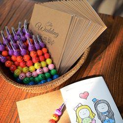 웨딩키즈북과 색연필 10세트