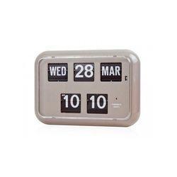 [트웸코] 캘린더 벽 플립시계 QD-35 (Gray)