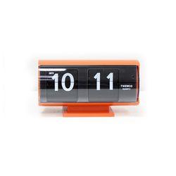 [트웸코] 플립시계 QT30T (Orange)