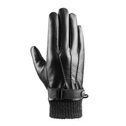 [사르토르] 신슐레이트 풀터치 삼선 가죽장갑 블랙