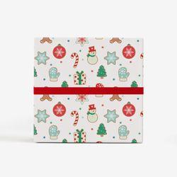 크리스마스쿠키 포장지(3장)