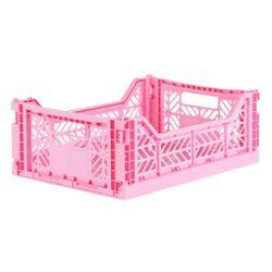 아이카사 폴딩박스 M baby pink