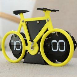 자전거 플립 탁상시계(옐로우)