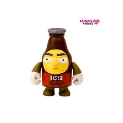 1501023 3INCH THE SIMPSONS SURLY DUFF