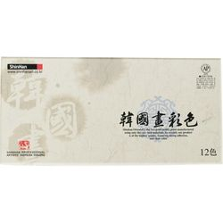 [117651]한국화물감(20ml 12색)