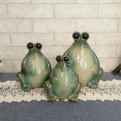 개구리삼형제 저금통 3p