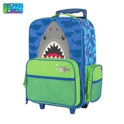 캐리어(유아용 여행가방) - 상어