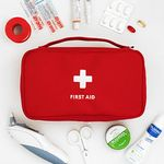 FIRST-AID POUCH L-여행용구급파우치라지  red