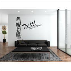 찰리채플린 포인트 벽지 채플린 뮤럴 벽지 실크 벽지