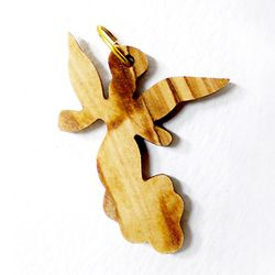 공정무역 올리브나무 펜던트 - 천사