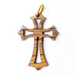 공정무역 올리브나무 펜던트 - 십자가4
