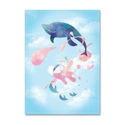 패브릭포스터 Pink Water [A3] [074]