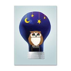 패브릭포스터 Light Owl [A3] [076]