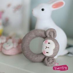 [DIY]원숭이 도넛 딸랑이 만들기 패키지