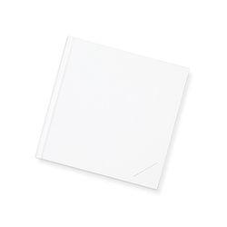 Blank book-white