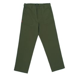 COTTON FATIGUE PANTS - KHAKI