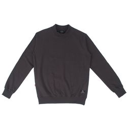 HALF NECK SWEAT SHIRT - D.GRAY