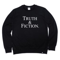 TRUTH & FICTION Crewneck Black