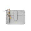 Dijon 301S Flap mini Card Wallet light grey