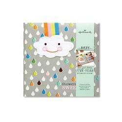 홀마크 베이비 메모리북 성장앨범(빗방울)-BBA7033