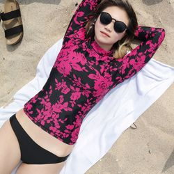 DAYS OFF rash guard(flower)