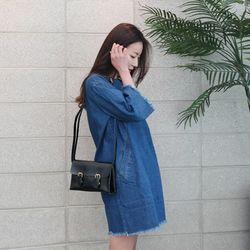 double mini bag