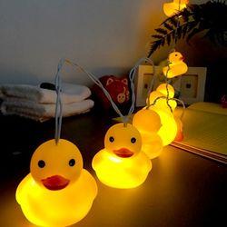 LED장식 - 오리
