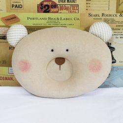(DIY)곰돌이 짱구배게 만들기-솜포함