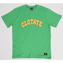 SKATEBOARD LOGO TEE GREEN